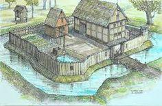 Bildergebnis für medieval palisade