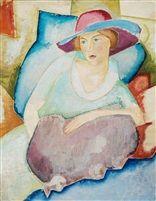 Sigrid Hjertén by Isaac Grünewald