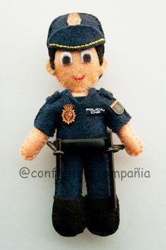 policia de fieltro