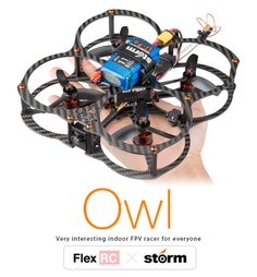 Storm Racing Drone (RTF / Flex-RC Owl Storm Edition) http://www.helipal.com/storm-racing-drone-rtf-flex-rc-owl-storm-edition.html