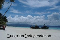 Day 4 is all about location independence and what it means to us. To me it quite literally means having the freedom and independence. The Freedom, 30 Day, Challenges, Journey, Clouds, Adventure, Beach, Water, Travel