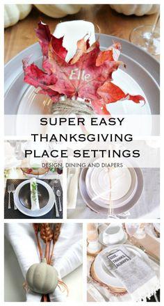 Easy Thanksgiving Pl