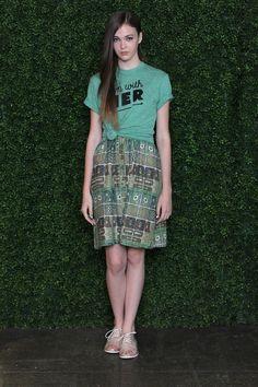 Rachel Antonoff RTW Spring 2013 // Aerial Garden Skirt and cute tee!