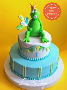 Prens kurbağa:) pasta