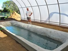 Mike 39 s hand trommel this would make a great compost for Garden pool tilapia