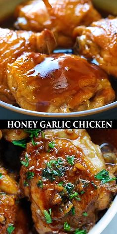 Most Delicious Recipe, Delicious Dinner Recipes, Yummy Chicken Recipes, Best Comfort Food, Honey Garlic Chicken, Cooking Recipes, Healthy Recipes, Food Test, Snack