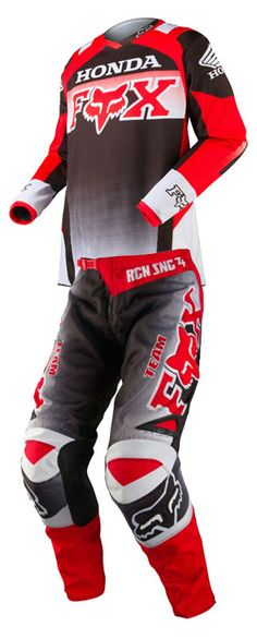 Check out the deal on Fox - 2015 180 Honda Jersey, Pant Combo at BTO SPORTS