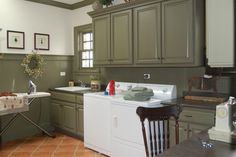 Traditional Home Primitive Laundry Room Design, Pictures, Remodel, Decor and Ideas - page 8