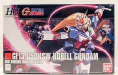 Bandai Sweden Mobile Fighter Nobell Gundam 1/144, HGUC Action Figure