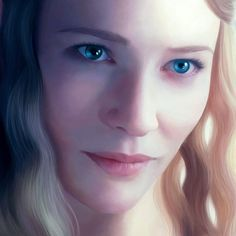 Galadriel, lady of light, lotr. the hobbit