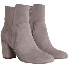 Zimmermann Weekend Ankle Boot (660 CAD) ❤ liked on Polyvore featuring shoes, boots, ankle booties, suede ankle booties, high heel bootie, short boots, high heel boots and suede booties