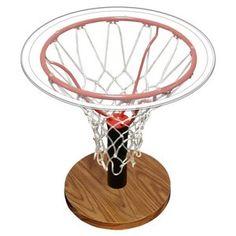 basketball table, so having a basketball room