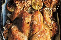 Culinary queen Donna Hay takes over our Recipe Residency this month, and shares her amazing recipe for quick butterflied roast chicken from her latest cookbook, Basics To Brilliance. Roast Chicken Recipes, Roasted Chicken, Butterfly Chicken Recipes, Mexican Food Recipes, Dinner Recipes, Yummy Recipes, Recipies, Chicken Specials, Butterflied Chicken