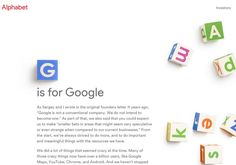 Google se reestructura: nuclea a todas las empresas en el grupo Alphabet