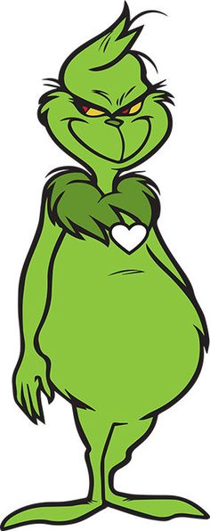 Pin+The+Heart+On+The+Grinch+Christmas+Birthday+by+ThePoniXpress