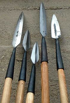 Survival Spears For Wild Animals Attacks Or Hunting and Defense.