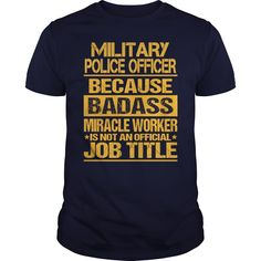 Military police officer badass - Tshirt #policephysical