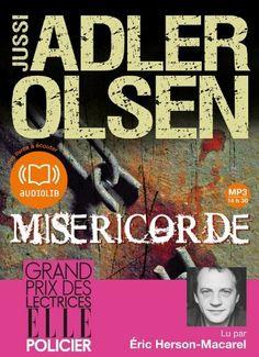 Miséricorde: Livre audio 2 CD MP3 - 587 Mo + 615 Mo de Jussi Adler-Olsen, http://www.amazon.fr/dp/2356415149/ref=cm_sw_r_pi_dp_Wf4Psb1XPKZBZ