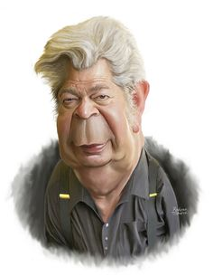 Cartoon: Richard Harrison Pawn star (medium) by rocksaw tagged richard,harrison,pawn,star