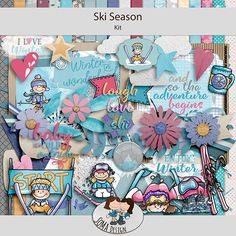 Oscraps.com :: Shop by Category :: All New :: SoMa Design: Ski Season - Kit