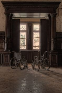 Hospitals and asylums are my favorite abandoned, decaying places. They're so hauntingly intriguing.