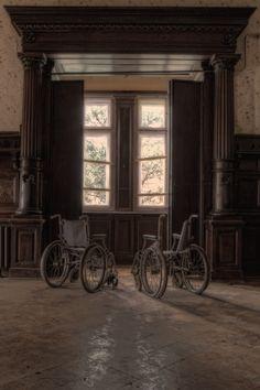 abandoned sanatory.