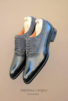 Balmoral Darby by Septieme Largeur http://www.theshoesnobblog.com/
