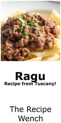 This recipe is from our private cooking lesson in Tuscany.  Super easy and authentic.  Recipe makes 16 cups of sauce -- plenty to freeze for later! |The Recipe Wench