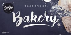Bakery by StereoType Hello, and thank you for downloading this font.