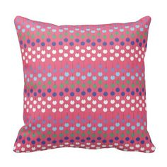 Windchimes design on pillow available on Zazzle