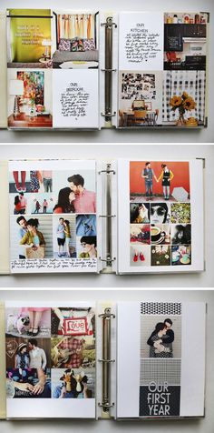 álbum de scrapbook para principiantes #ideas #scrap #inspiracion #album #fotos Mais Mais