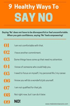 9 Healthy Ways to Say NO! PTSD | codependency | boundaries | saying no | relationships | marriage | partner | wife | husbad | spouse | family | children | kids | life | love | truth | quotes | facts | support | military | read more at thislifethismoment.com