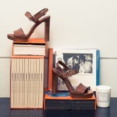 """""""[Heels or flats?] Silly question..."""" http://www.thecoveteur.com/romy-frydman/"""