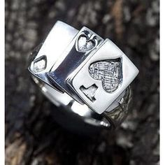 Biker Rings : Sterling Silver Rings for Men – Page 7 Mens Rings For Sale, Unique Mens Rings, Rings For Men, Silver Skull Ring, Silver Man, Sterling Silver Mens Rings, Silver Jewelry, Bishop Ring, The Draw
