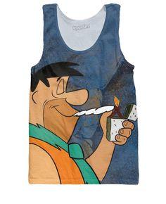 Fred Flintstoned Tank Top