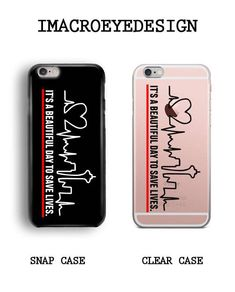 It's Beautiful Day To Save Lives Phone Case, iPhone Case, iPhone Plus, iPhone 7 Case, iPhone 8 Greys Anatomy Phone Cases, Greys Anatomy Gifts, Greys Anatomy Memes, Grey Anatomy Quotes, Bff Iphone Cases, Funny Phone Cases, Diy Phone Case, Phone Cover, Iphone 5s