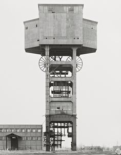 Dickensian: Bernd and Hilla Becher's Mine Head. Photograph: Bernd + Hilla Becher/Sprueth Magers