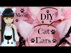 DIY Cat Ears | Fluffy Ears (Easy) | Meow Meow - YouTube