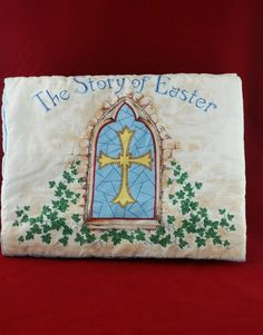 The Story Of Easter Book Cloth Hand Made | Books, Children & Young Adults, Other Children & Young Adults | eBay!