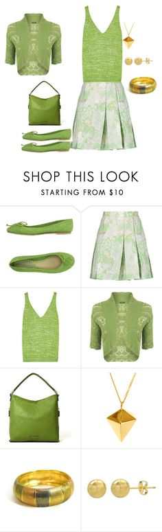 """Greenday"" by chauert ❤ liked on Polyvore featuring Marni, Missoni, WearAll, Liz Claiborne and Origami Jewellery"