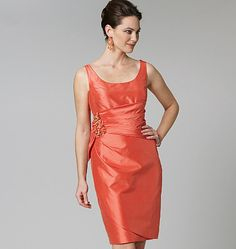 Vogue 1242. Now, this would be a great  bridesmaid's dress that you could actually wear again!