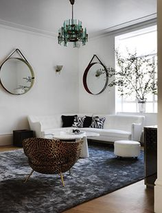 Inside a London Home Full of Luxurious Layers // Living Room