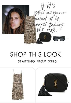 """""""dress + clutch"""" by jofrebcn ❤ liked on Polyvore featuring Equipment and Yves Saint Laurent"""