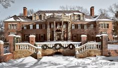 Beautiful Historic Mansion in Tulsa Old Mansions, Abandoned Mansions, Beautiful Buildings, Beautiful Homes, Big Houses, Manor Houses, House Goals, Historic Homes, Victorian Homes