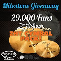 Next milestone Giveaway!!! #giveaway #win #prize #free #drum #drummers #music