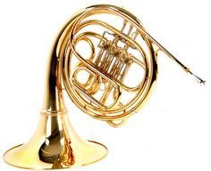 B-Stock, Thomann HR-103 French Horn in F - detachable brass bell, yellowbrass mouth pipe, string mechanism, nickel silver thomann inner/outer slides, clear lacquer. Includes mouthpiece and light case., B-Stock with full warranty, may have slight traces of use
