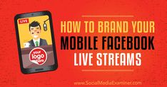 Live streaming is all the rage on social media right now, but what good is it if you can\'t showcase your brand? Fortunately, you can! This article breaks down how.  #socialmedia