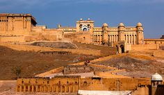 Travel through Rajasthan as you visit the best of Northern India by land and train, including Agra, Jaipur, Jodhpur and Udaipur with Smithsonian Journeys. Amer Fort, Elephant Ride, Golden Triangle, Group Tours, Agra, Southeast Asia, Cool Places To Visit, The Good Place, Beautiful Places