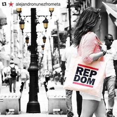 #RepDom tote bag by Just Mangu it awesome pic by @alejandronunezfrometa  #miciudadcolonialRD #AlejandroNuñez
