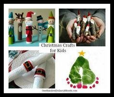 christmas crafts for kids projects